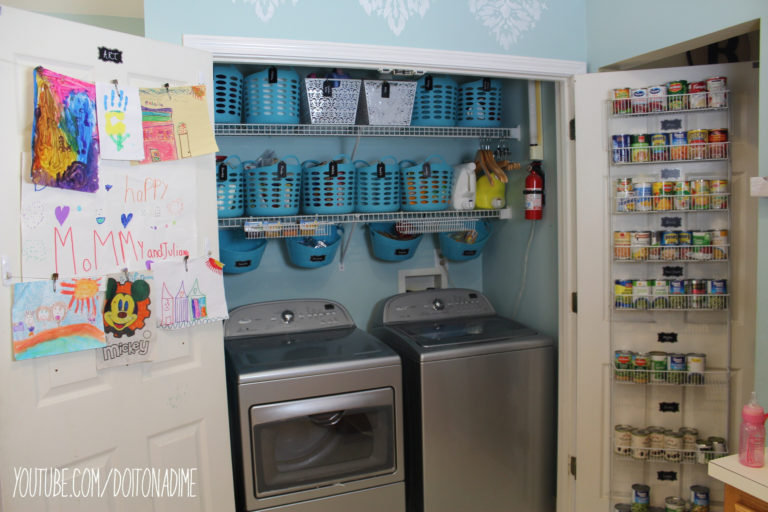 Pantry/Laundry Room After