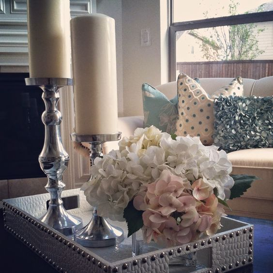 Decorate with Table Tray