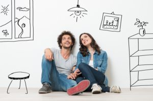 Couple Planning Their Room