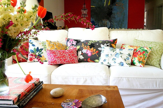 Decorate with Toss Pillows