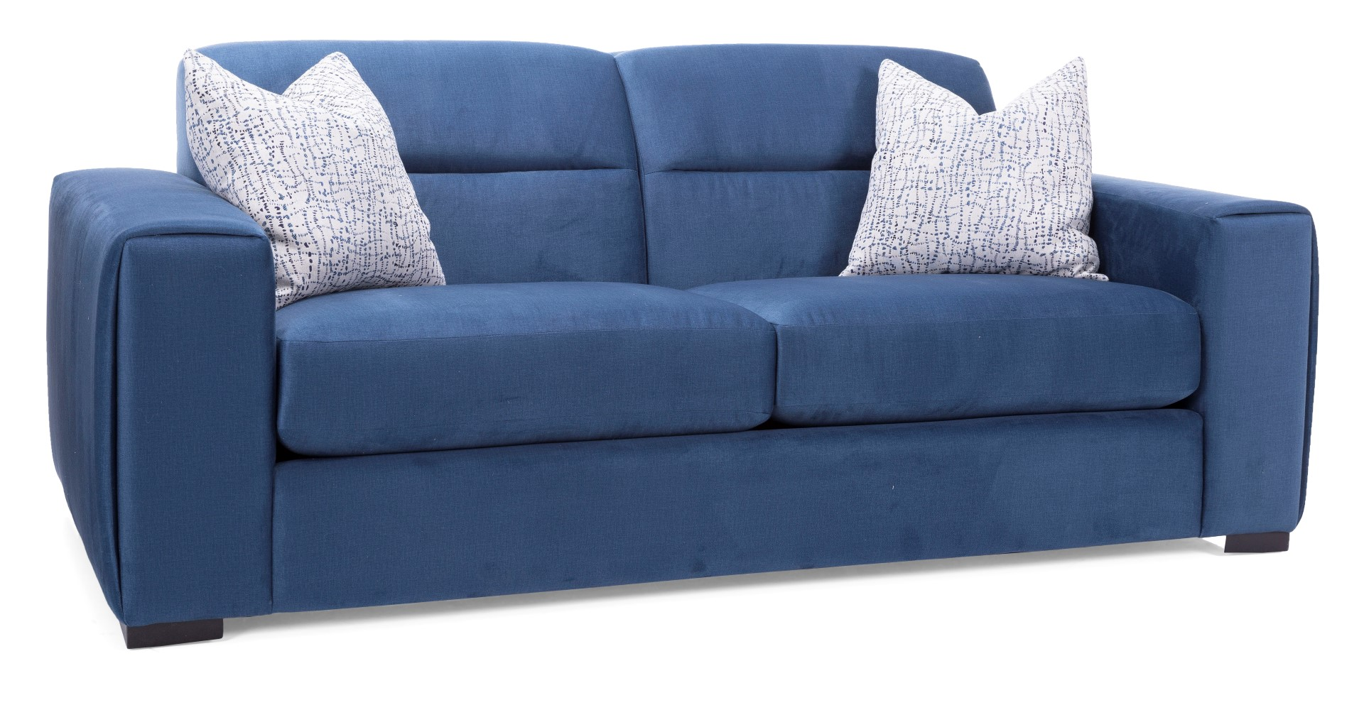 Decor-Rest 2656 Velvet Blue Sofa