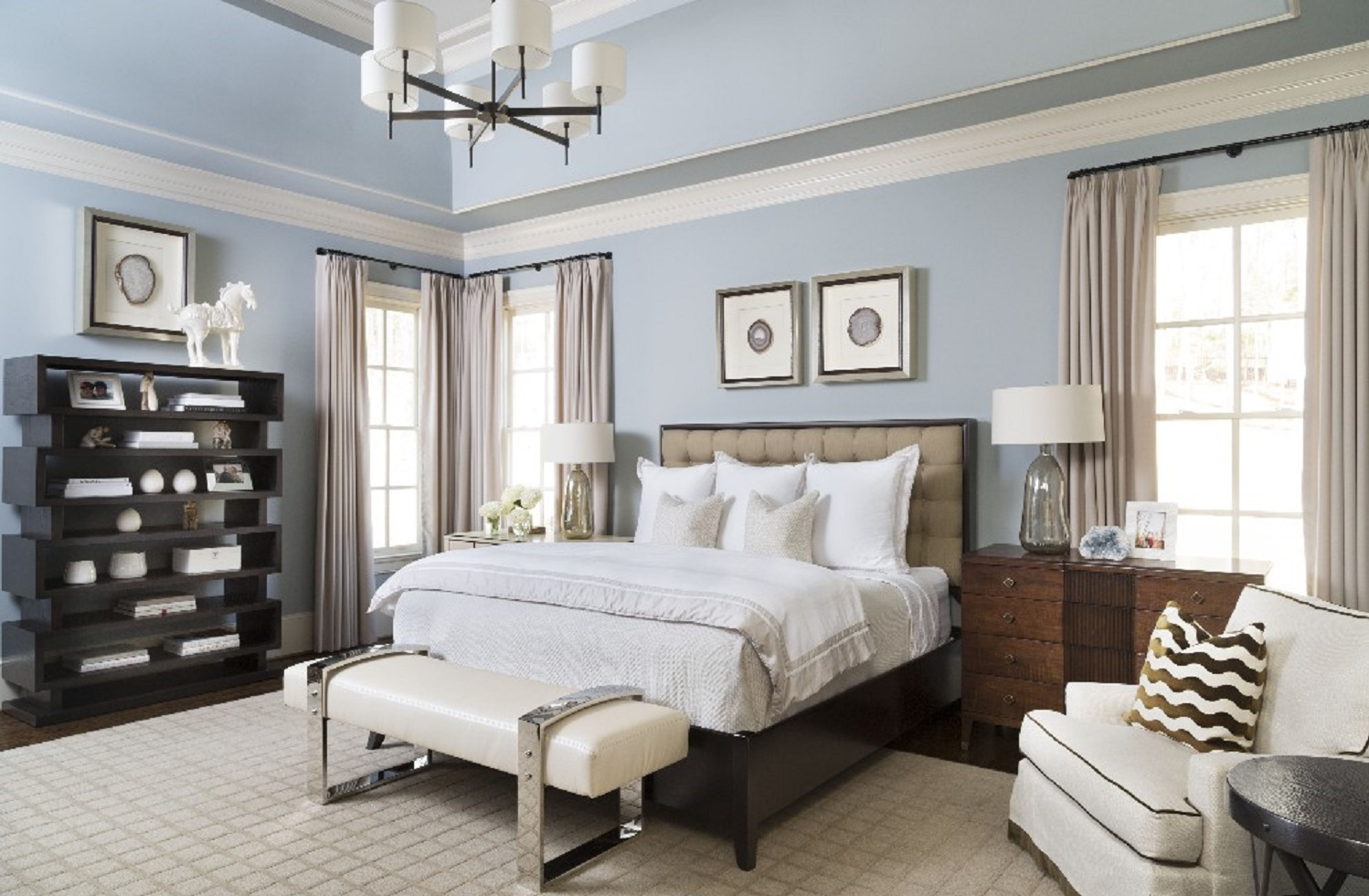 Master Bedroom by Pineapple House