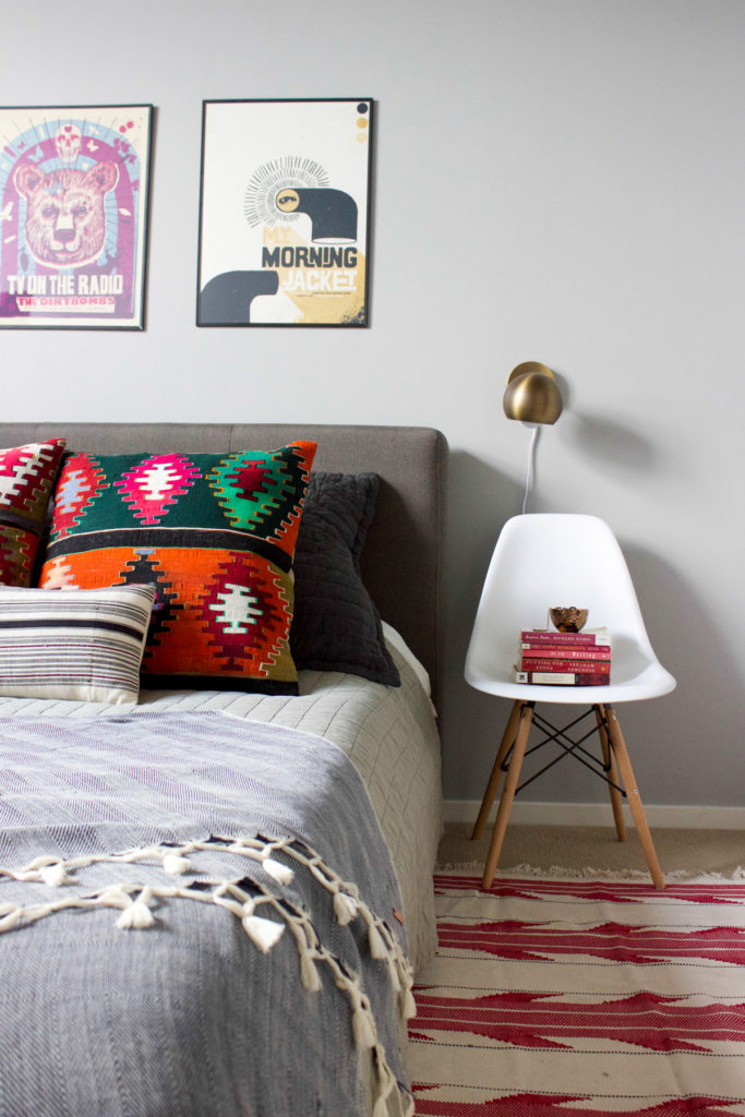 Accent Chair as a nightstand