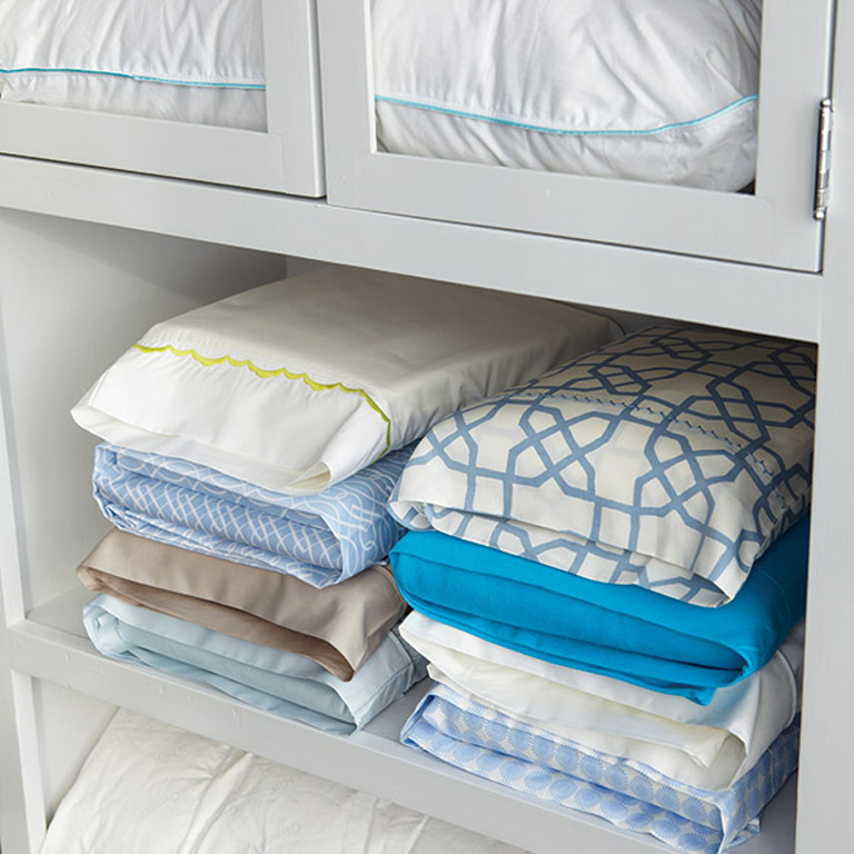 Folded Sheets in Pillow Case